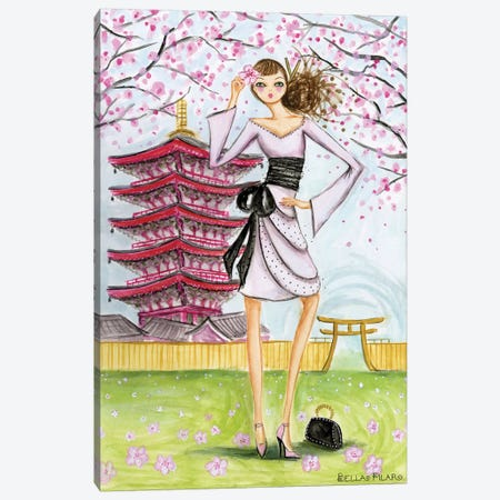 Tokyo Canvas Print #BPR147} by Bella Pilar Canvas Wall Art