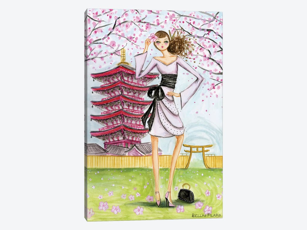 World Traveler: Tokyo by Bella Pilar 1-piece Canvas Art Print
