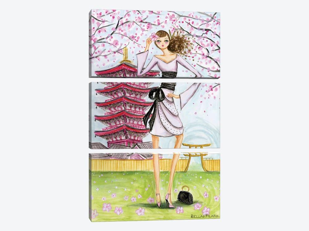 Tokyo by Bella Pilar 3-piece Canvas Art Print