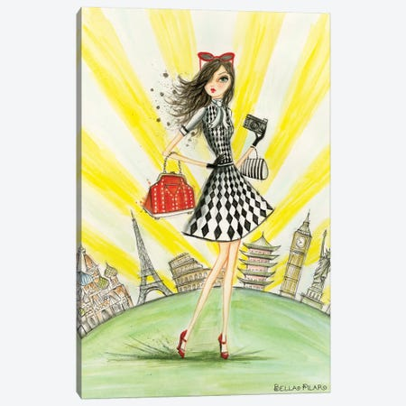 Arista Around The World Canvas Print #BPR148} by Bella Pilar Canvas Print