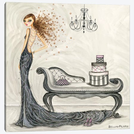 Fabulous Fabiana Canvas Print #BPR153} by Bella Pilar Canvas Artwork