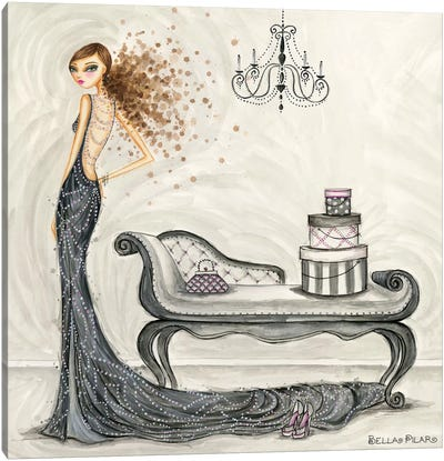 Fabulous Fabiana Canvas Art Print