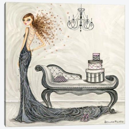 Fabulous Fabiana Canvas Print #BPR153} by Bella Pilar Canvas Artwork