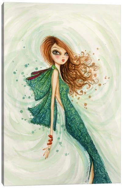 Gemstones Teal Canvas Print #BPR157