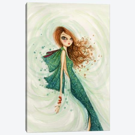 Gemstones Teal Canvas Print #BPR157} by Bella Pilar Art Print