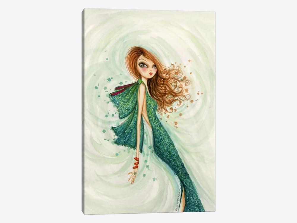 Gemstones Teal by Bella Pilar 1-piece Canvas Artwork
