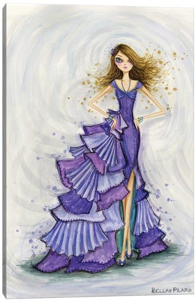 Gemstones Violet Canvas Art Print
