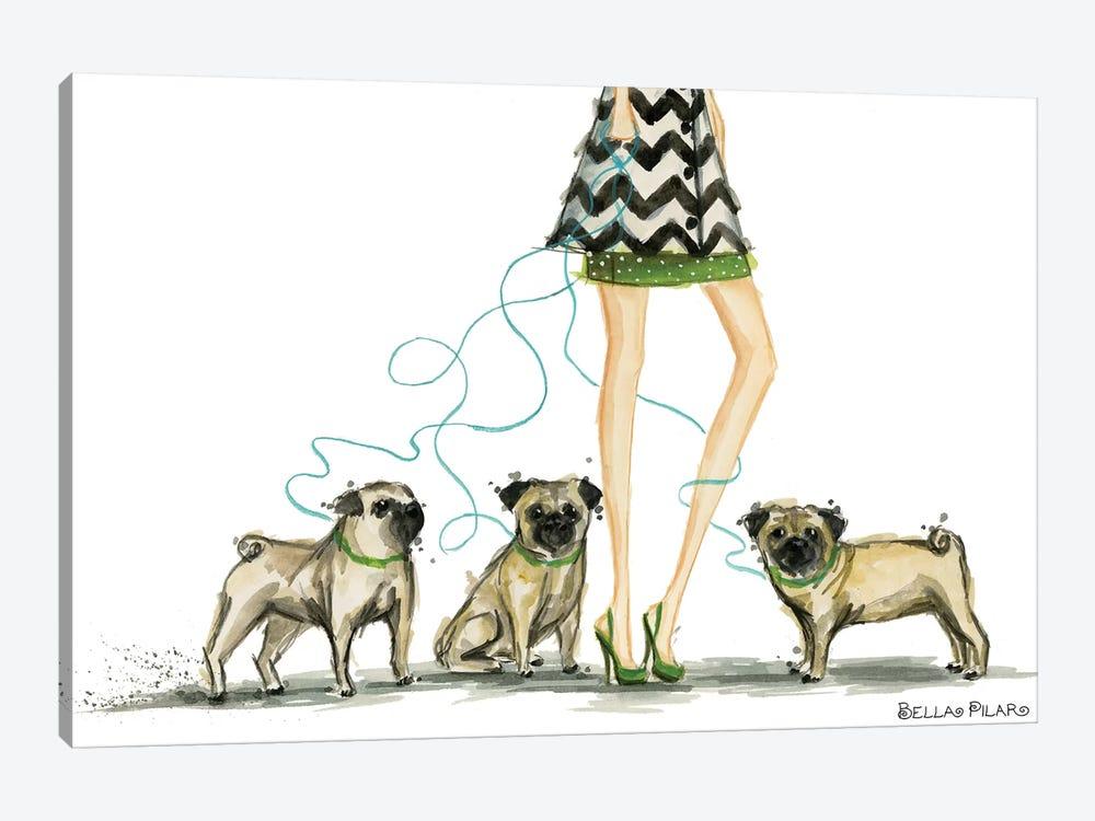 Girls Best Friend #2 by Bella Pilar 1-piece Canvas Artwork