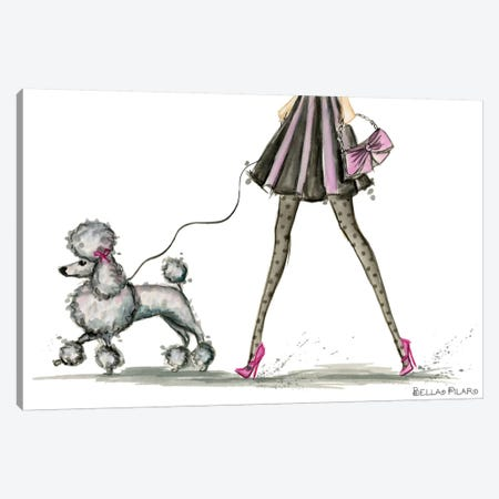 Girls Best Friend #3 Canvas Print #BPR161} by Bella Pilar Art Print