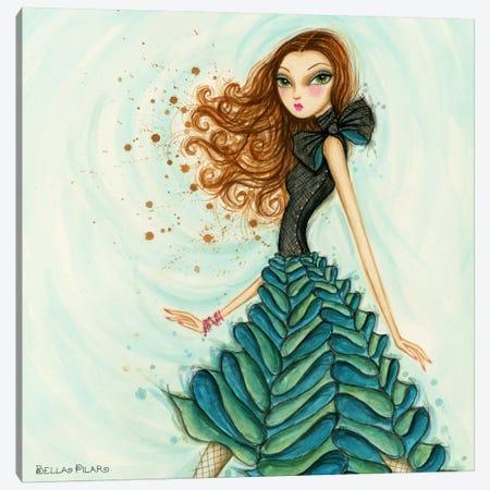Bows n Ruffles Canvas Print #BPR162} by Bella Pilar Canvas Print