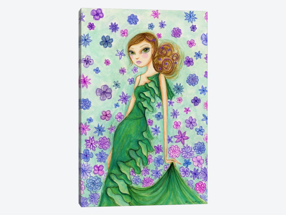 Rosalie in Ruffles by Bella Pilar 1-piece Canvas Wall Art