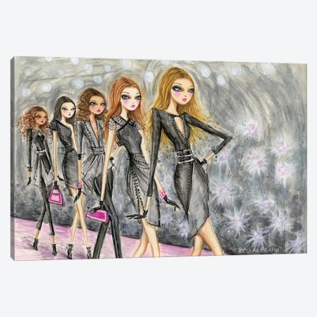 Model Behavior #2 Canvas Print #BPR173} by Bella Pilar Canvas Art