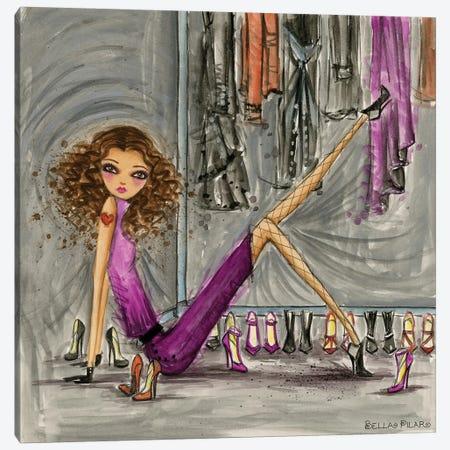 Model Behavior #8 Canvas Print #BPR179} by Bella Pilar Canvas Art