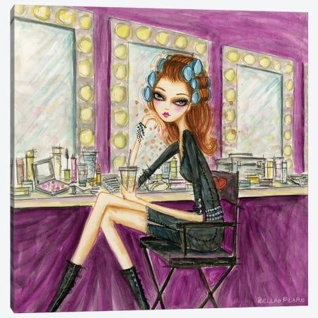 Model Behavior #9 Canvas Print #BPR180} by Bella Pilar Canvas Art Print