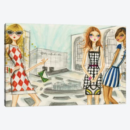 Runway Royalty Canvas Print #BPR184} by Bella Pilar Canvas Art