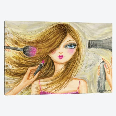 Runway Royalty #2 Canvas Print #BPR185} by Bella Pilar Canvas Wall Art