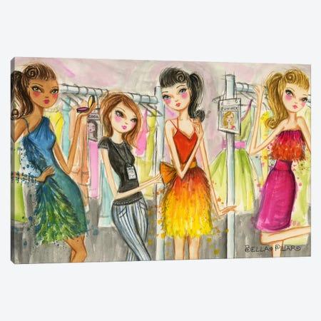 Runway Royalty #3 Canvas Print #BPR186} by Bella Pilar Canvas Artwork