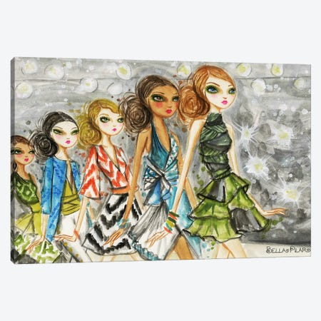 Runway Royalty #4 Canvas Print #BPR187} by Bella Pilar Canvas Art