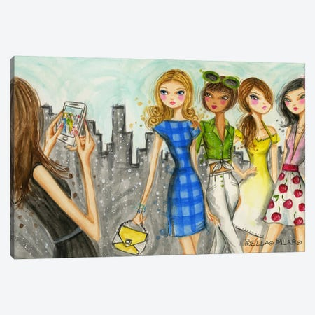 Runway Royalty #7 Canvas Print #BPR190} by Bella Pilar Canvas Wall Art