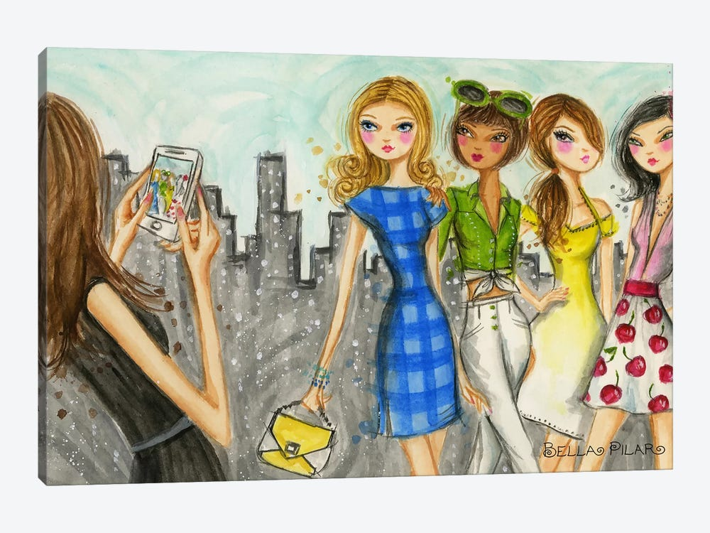 Runway Royalty #7 by Bella Pilar 1-piece Canvas Art Print
