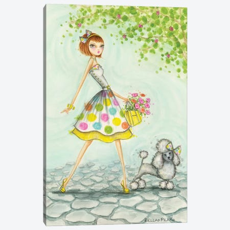Samaya and Sunshine Canvas Print #BPR191} by Bella Pilar Canvas Artwork