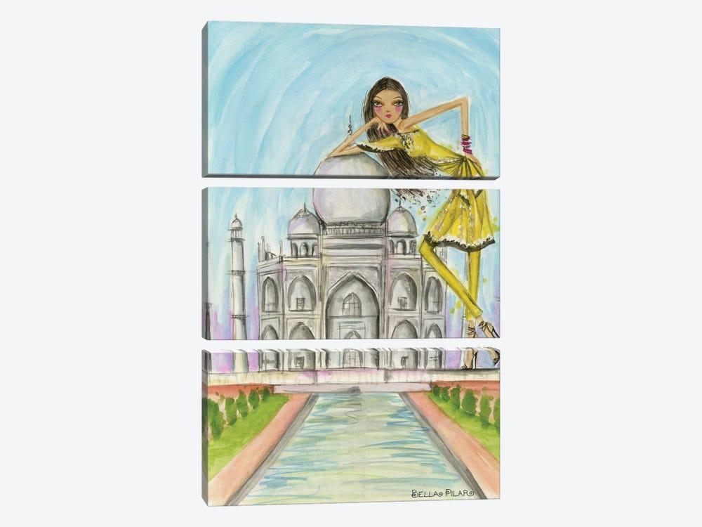 Agra by Bella Pilar 3-piece Canvas Art Print