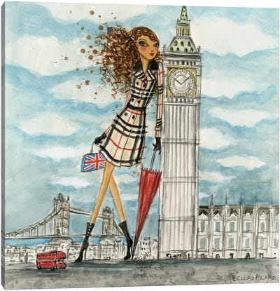 See The Sights: London Canvas Art Print