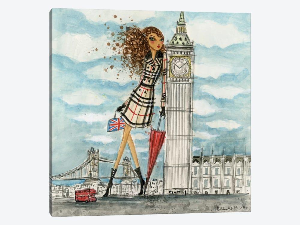 London by Bella Pilar 1-piece Canvas Art Print