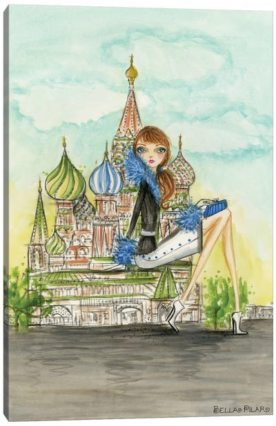See The Sights: Moscow Canvas Print #BPR195