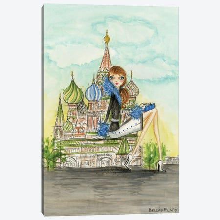 Moscow Canvas Print #BPR195} by Bella Pilar Canvas Print