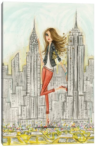 See The Sights: New York Canvas Art Print