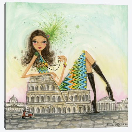 Rome Canvas Print #BPR198} by Bella Pilar Canvas Wall Art