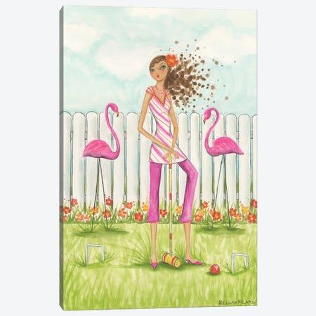 Backyard Games Canvas Print #BPR19} by Bella Pilar Canvas Print
