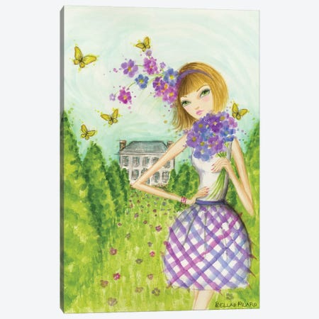 Springtime at Summerside #2 Canvas Print #BPR200} by Bella Pilar Canvas Wall Art