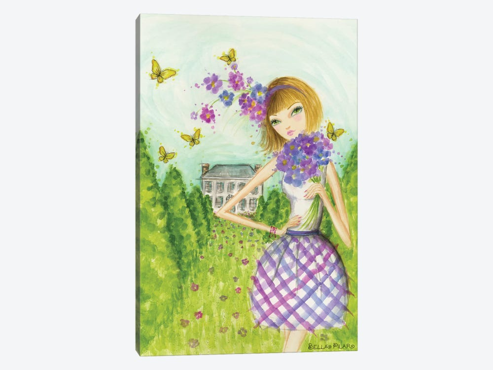 Springtime at Summerside #2 by Bella Pilar 1-piece Canvas Wall Art