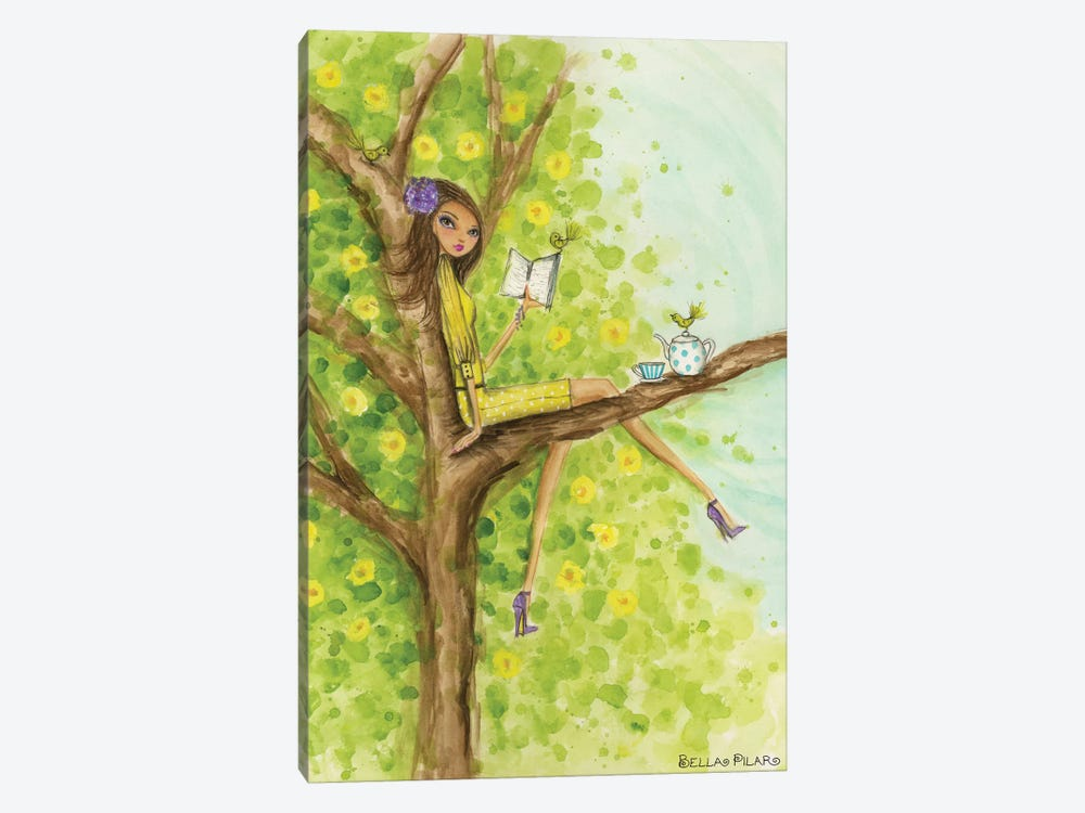 Springtime at Summerside #3 by Bella Pilar 1-piece Art Print