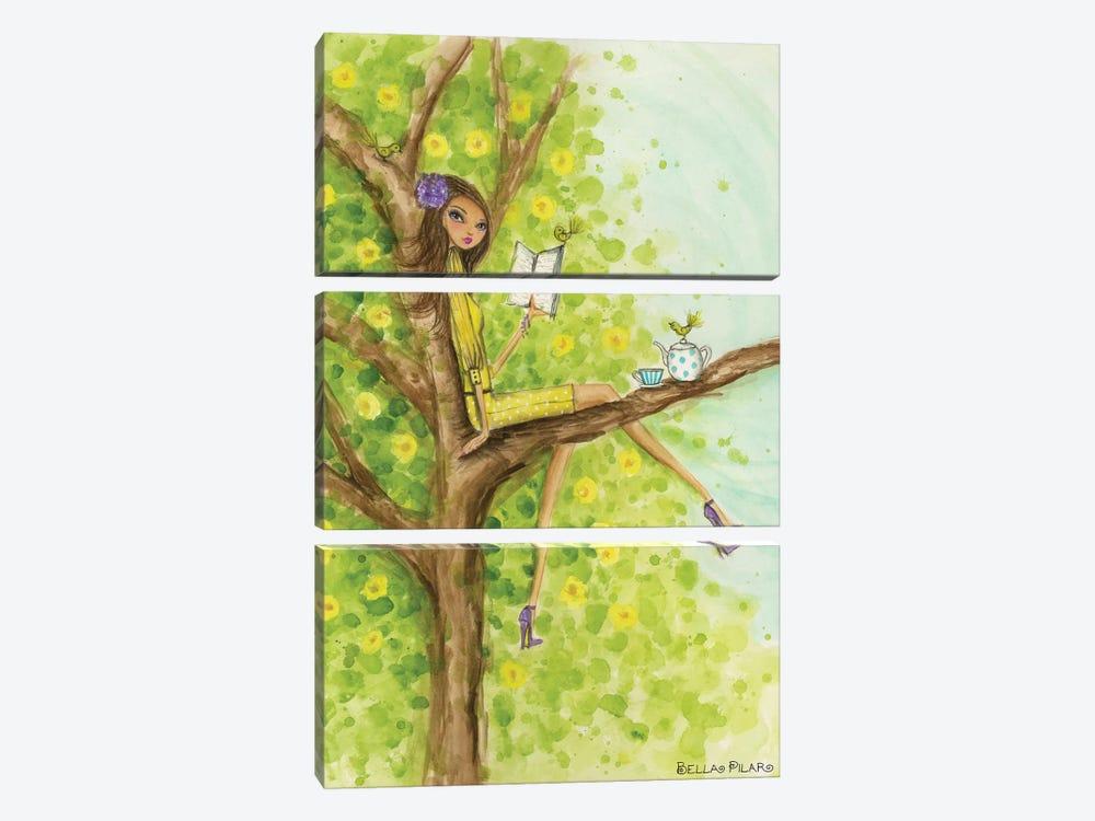 Springtime at Summerside #3 by Bella Pilar 3-piece Canvas Art Print