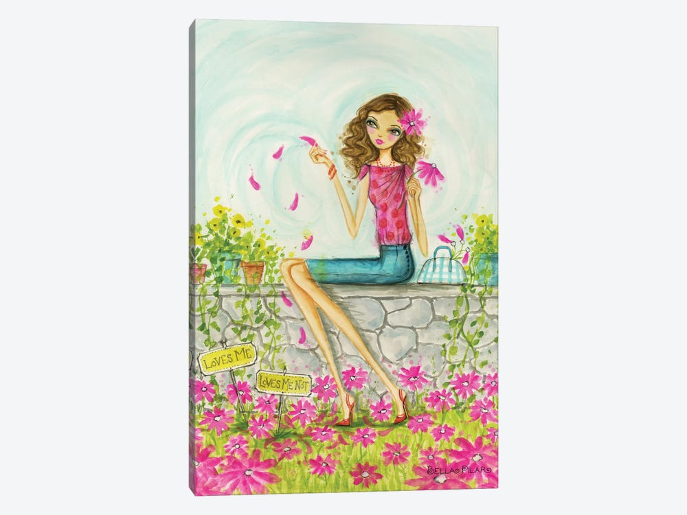 Springtime at Summerside #4 by Bella Pilar 1-piece Canvas Artwork