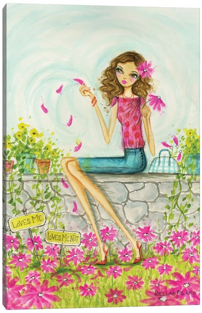 Springtime at Summerside #4 Canvas Art Print