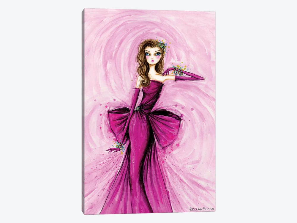 Starlet in Magenta by Bella Pilar 1-piece Art Print
