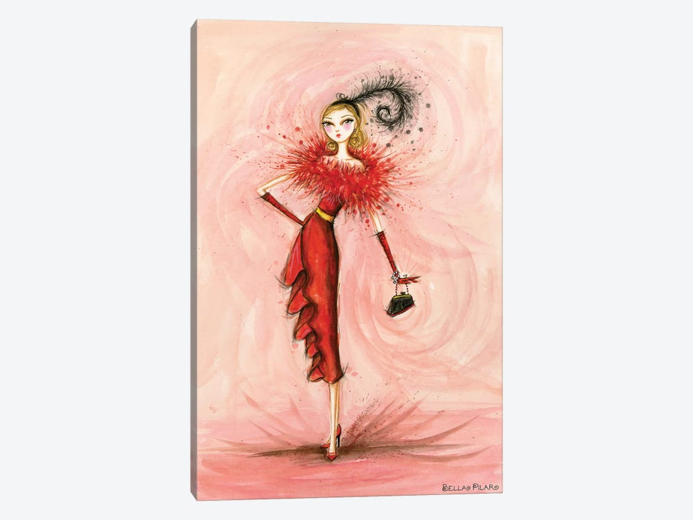Starlet in Red 1-piece Art Print