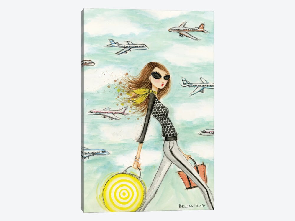 Wanda On Her Way by Bella Pilar 1-piece Art Print