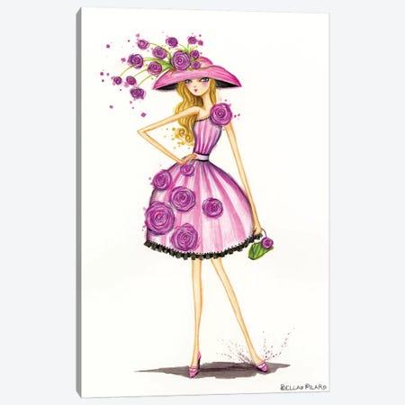 Garden Hat Canvas Print #BPR214} by Bella Pilar Canvas Wall Art