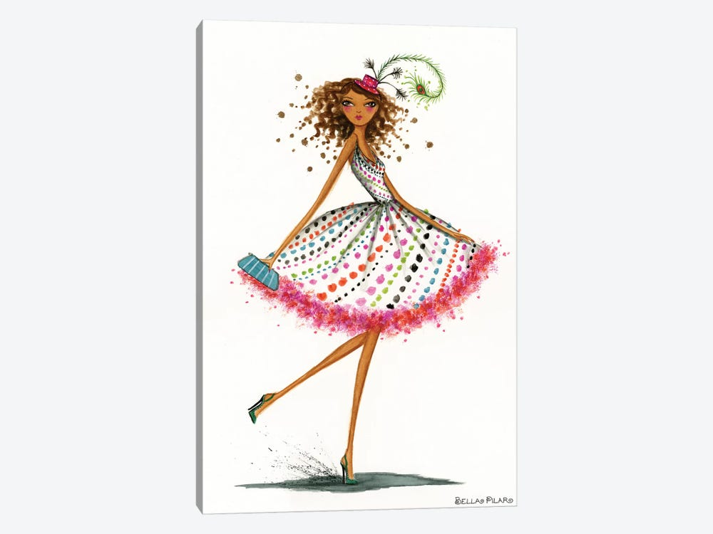 Party Hat by Bella Pilar 1-piece Art Print