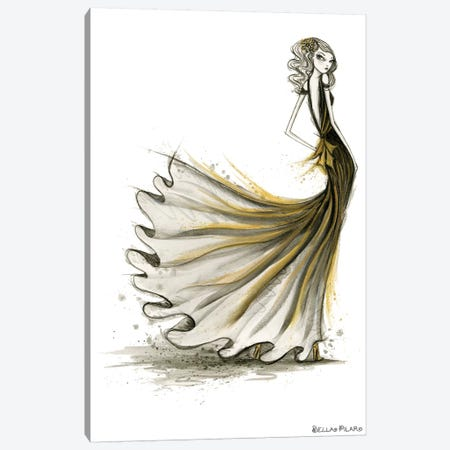 Shelley Canvas Print #BPR227} by Bella Pilar Art Print