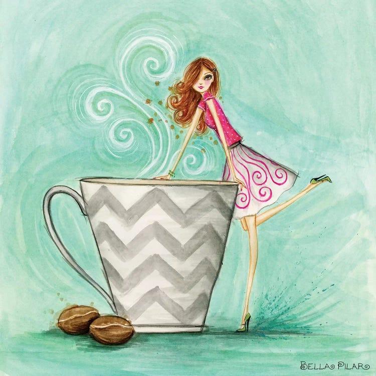 Java Josie Canvas Art By Bella Pilar Icanvas