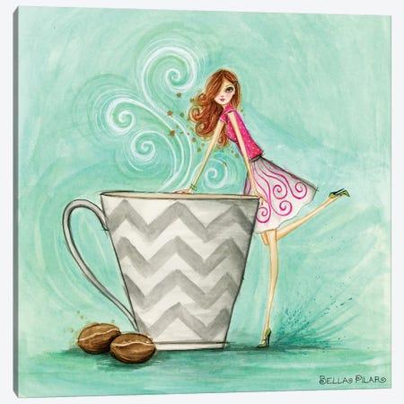 Java Josie Canvas Print #BPR230} by Bella Pilar Art Print