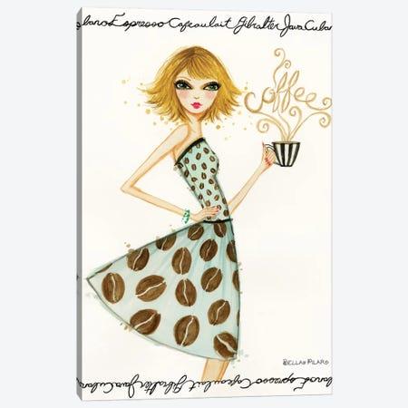 Latte Laila Canvas Print #BPR231} by Bella Pilar Art Print