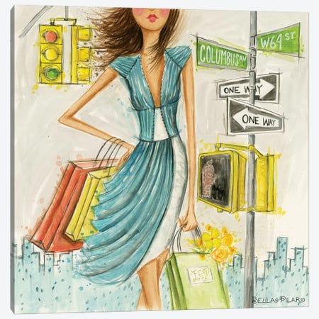 Street Signs Canvas Print #BPR235} by Bella Pilar Canvas Wall Art