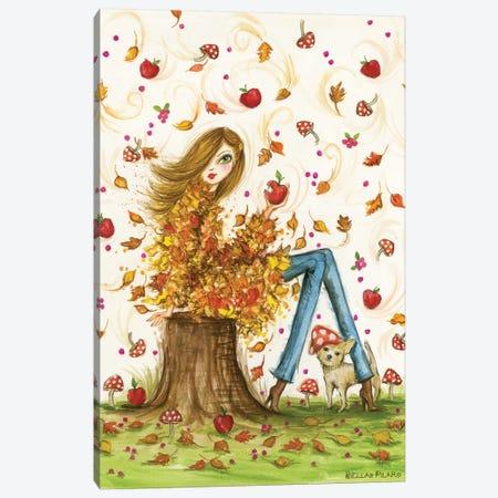 Crisp Autumn Day Canvas Print #BPR241} by Bella Pilar Canvas Art